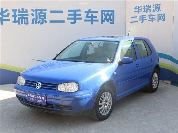 大众 高尔夫 2005款  自动挡舒适性超强的一款车辆