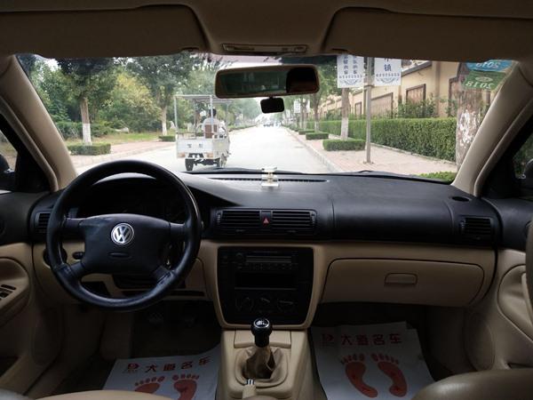 济南大众 帕萨特 2005款 2.0 手动舒适版