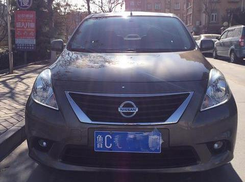 日产 阳光 2012款 1.5 xe舒适版