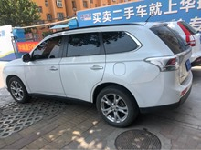 济南三菱-欧蓝德(进口)-2013款 2.4 CVT 四驱豪华导航版5座