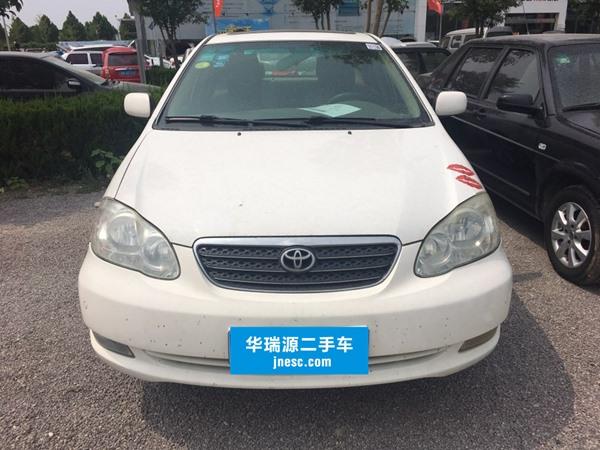 济南丰田 花冠 2004款 1.8AT GLX-S NAVI
