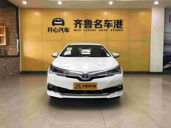 丰田 卡罗拉 2017款 改款双擎 1.8L CVT精英版
