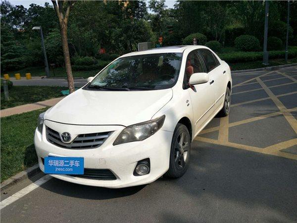 丰田 卡罗拉 2012款 1.8L GL-i 炫装版 CVT