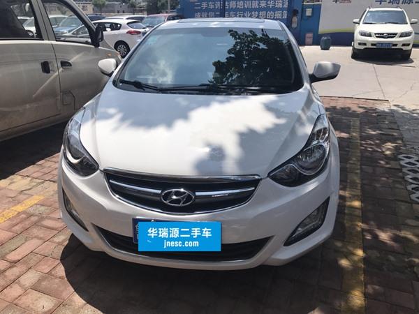 济南现代 悦动 2015款 1.6L 自动舒适型GL