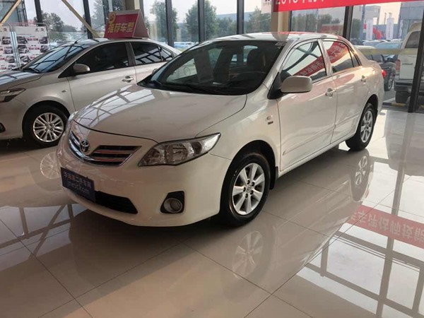 丰田-卡罗拉-2012款 1.6L GL 炫装版 AT