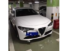日照  阿尔法罗密欧-Giulia(进口)-2017款 2.0T 200HP 精英版